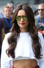 CHERYL COLE at #game4grenfell at Loftus Road in London 09/02/2017