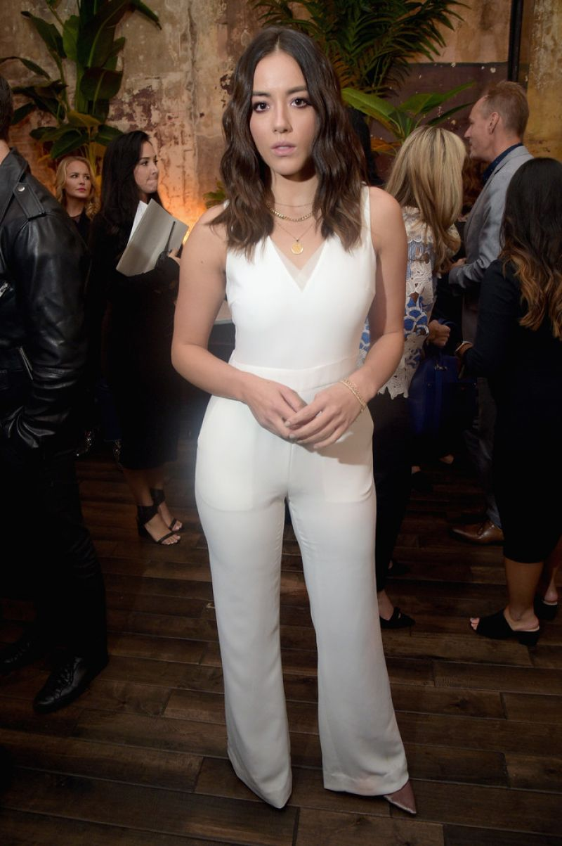 CHLOE BENNET at E!, Elle & Img Host New York Fashion Week Kickoff Party 09/06/2017