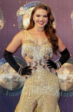 CHLOE HEWITT at Strictly Come Dancing 2017 Launch in London 08/28/2017