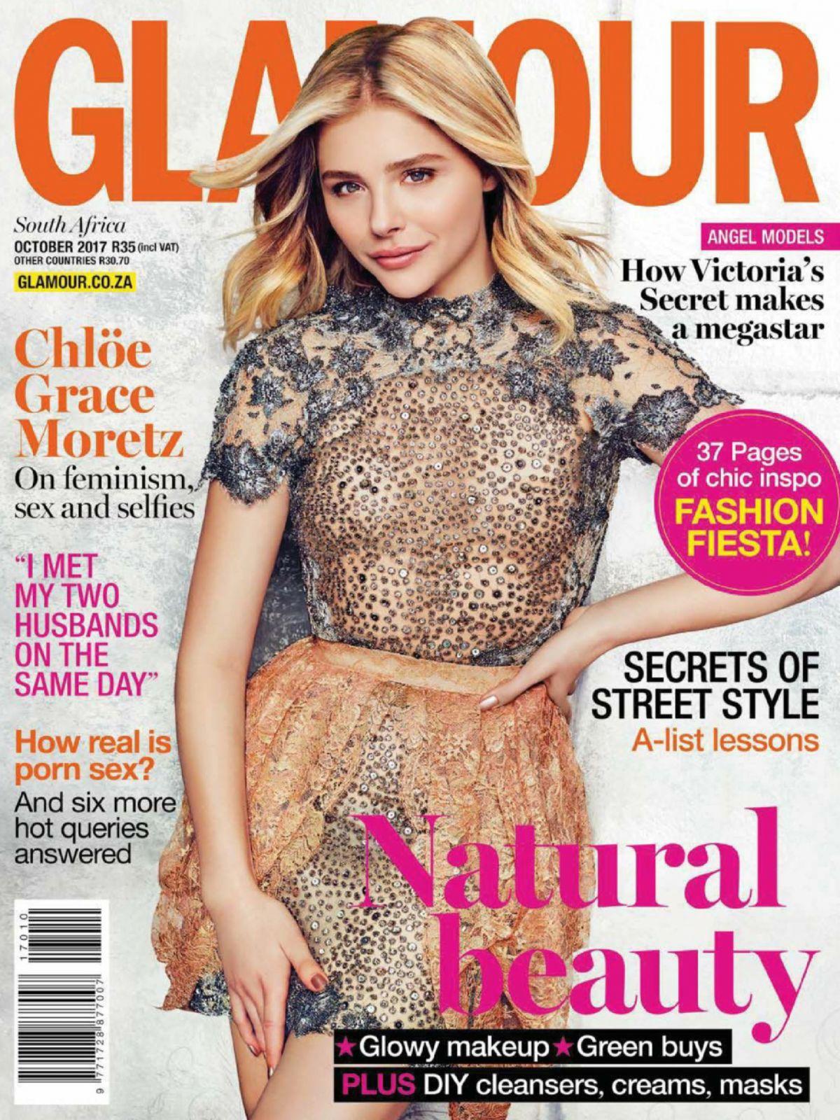 CHLOE MORETZ in Glamour Magazine, South Africa October 2017