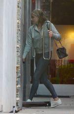 CHLOE MORETZ Leaves Hair Salon in Los Angeles 09/01/2017