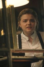 CHLOE MORETZ on the Set of The Widow at Dawson Hotel in Dublin 09/24/2017