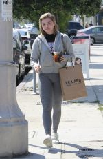 CHLOE MORETZ Shopping for Perfume at Le Labo in Los Angeles 09/02/2017