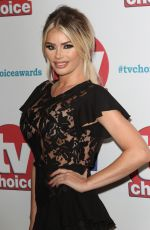 CHLOE SIMS at TV Choice Awards in London 09/04/2017
