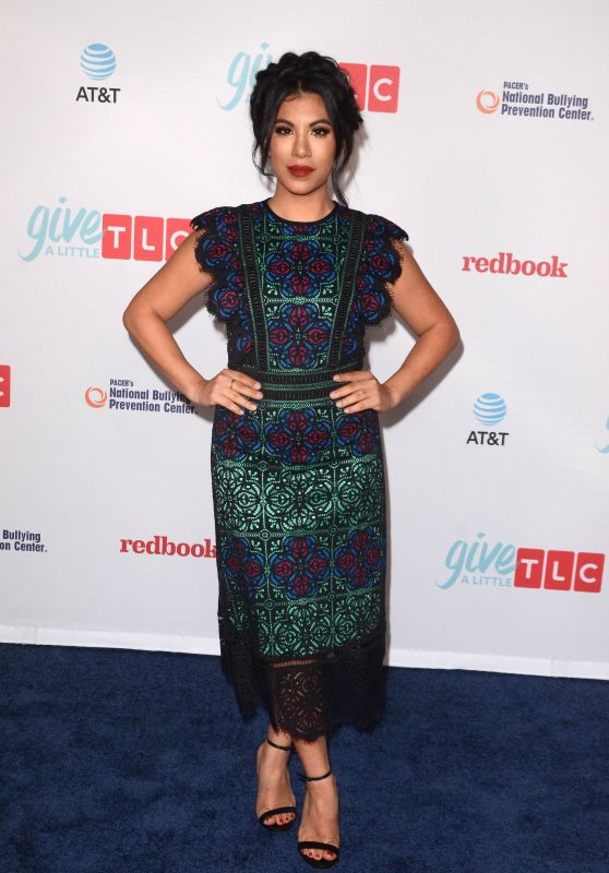 CHRISSIE FIT at TLC's Give a Little Awards in Hollywood 09/27/2017