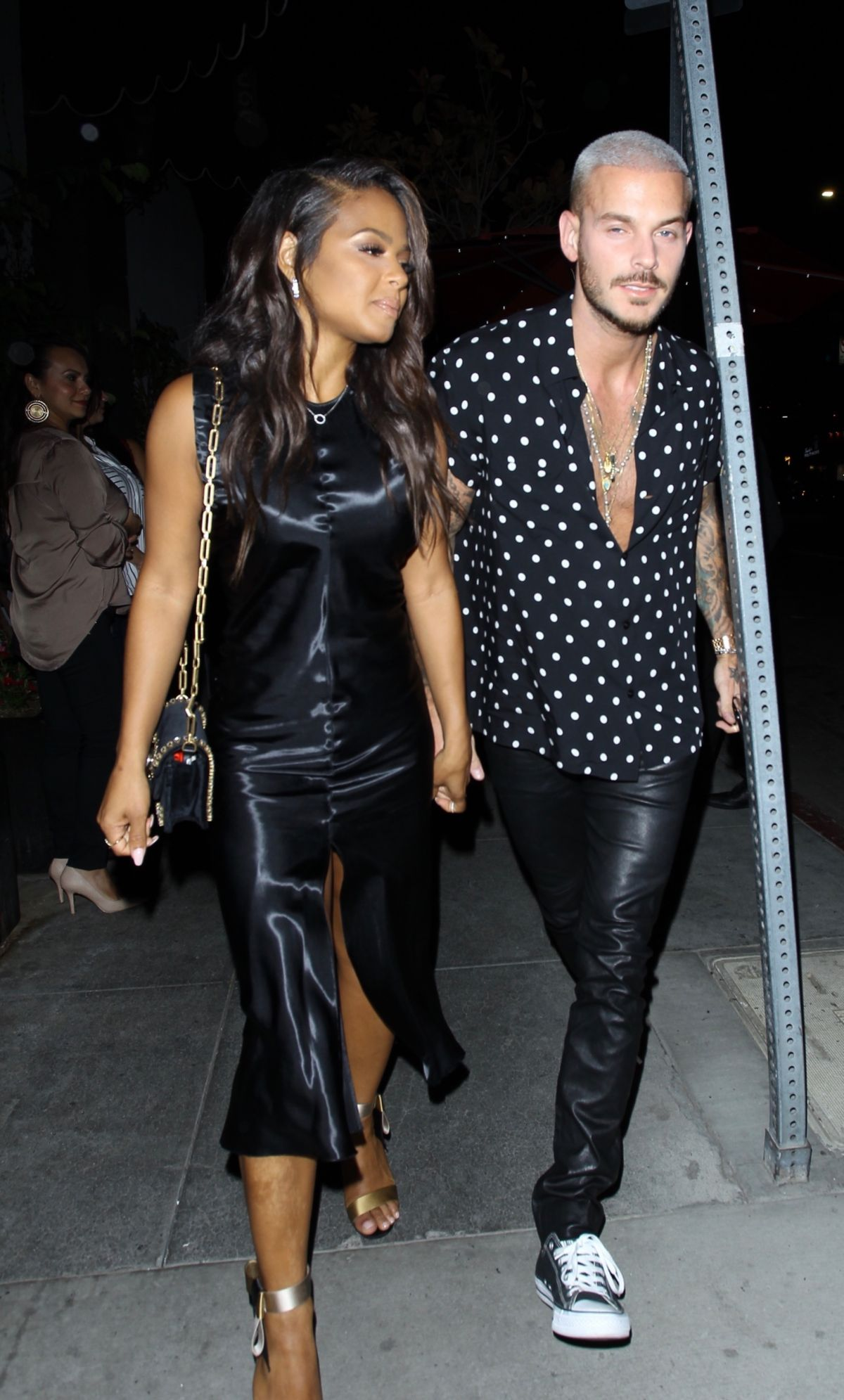 CHRISTINA MILIAN and Matt Pokora Celebrates Christina ...