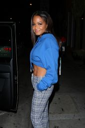 CHRISTINA MILIAN at Catch LA in West Hollywood 09/22/2017