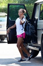 CHRISTINA MILIAN in Shorts Out and About in Studio City 09/08/2017