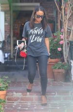 CHRISTINA MILIAN Out and About in Beverly Hills 09/25/2017