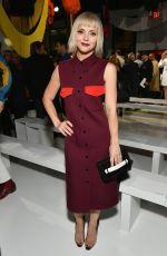 CHRISTINA RICCI at Calvin Klein Fashion Show at New York Fashion Week 09/07/2017