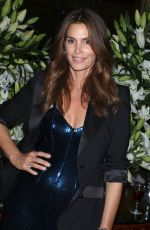 CINDY CRAWFORD at Harper's Bazaar Icons Party in New York 09/08/2017