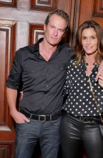 CINDY CRAWFORD at Marc Jacobs Fashion Show in New York 09/13/2017