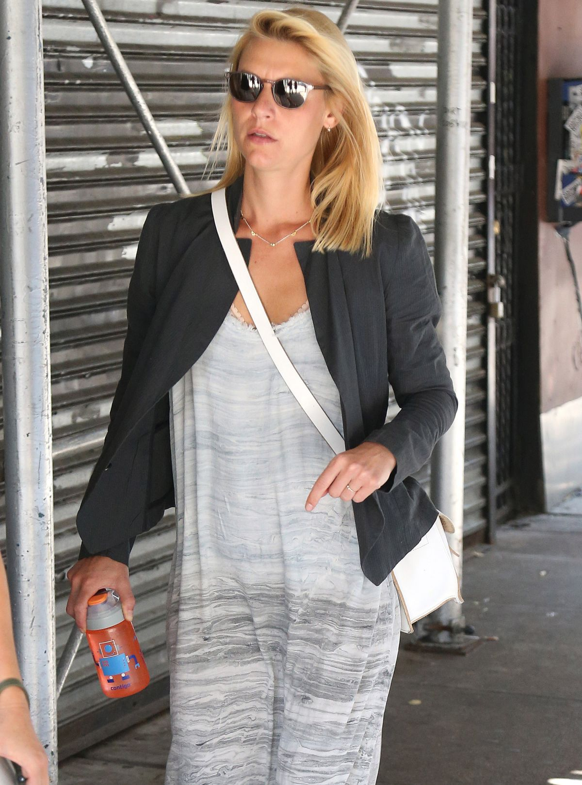 CLAIRE DANES Out and About in New York 09/05/2017