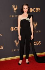 CLAIRE FOY at 69th Annual Primetime EMMY Awards in Los Angeles 09/17/2017