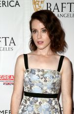 CLAIRE FOY at BBC America Bafta Los Angeles TV Tea Party 09/16/2017