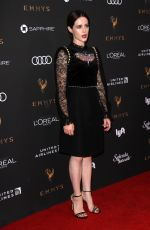 CLAIRE FOY at Television Academy 69th Emmy Performer Nominees Cocktail Reception in Beverly Hills 09/15/2017