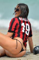 CLAUDIA ROMANI in Bikini Bottom at Miami Beach 09/27/2017