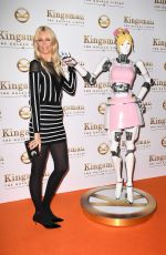 CLAUDIA SCHIFFER at Kingsman: The Golden Circle Premiere in London 09/18/2017
