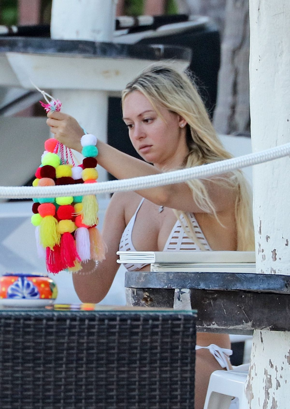 CORINNE OLYMPIOS on the Beach in Tulum 09/14/2017