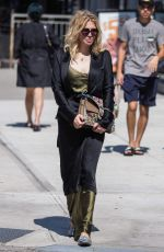 COURTNEY LOVE Out and About in New York 09/14/2017