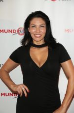 CRYSTAL SANTOS at MundoFlix Launch Party in Studio City 08/28/2017