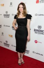 DAKOTA BLUE RICHARDS at Raindance Film Festival Opening in London 09/20/2017