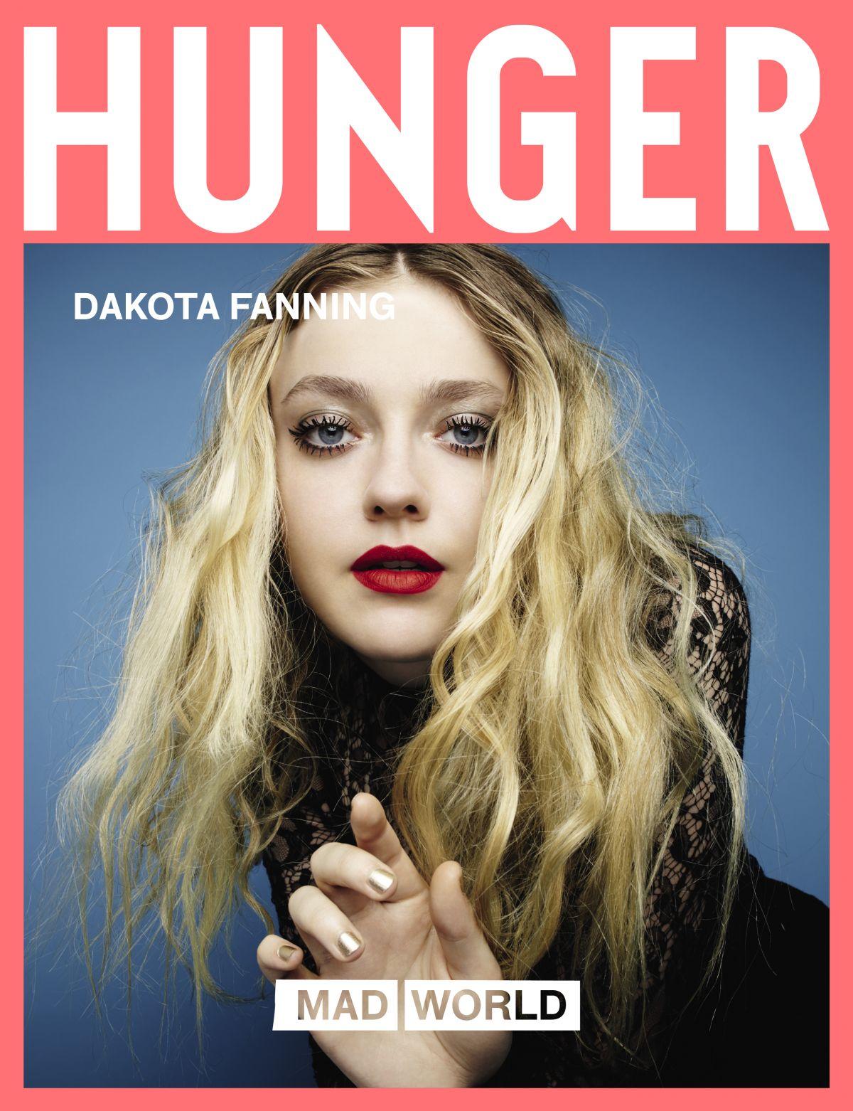 DAKOTA FANNING for Hunger Magazine, 2017