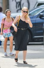 DAKOTA FANNING Out and About in New York 09/26/2017