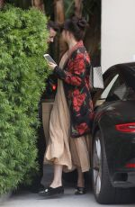 DAKOTA JOHNSON Arrives at Sunset Tower Hotel in West Hollywood 09/16/2017