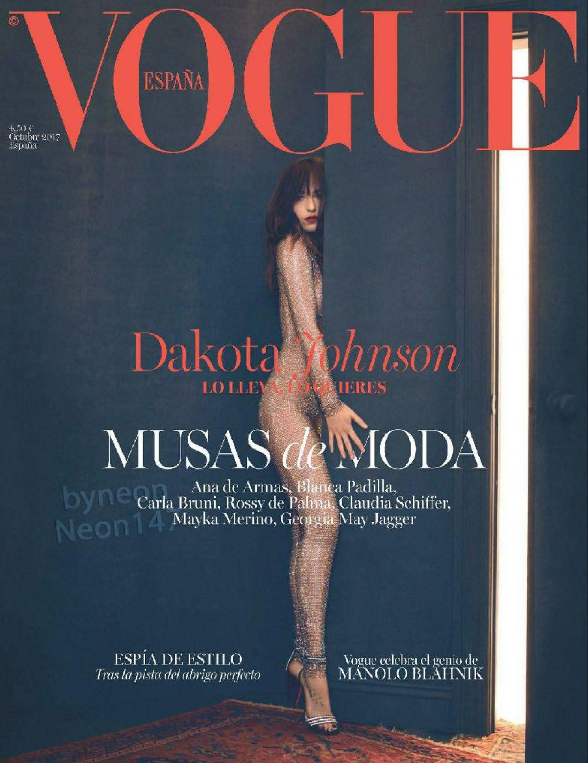 DAKOTA JOHNSON for Vogue Magazine, Spain October 2017