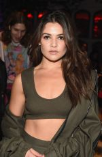 DANIELLE CAMPBELL at Maybelline Mansion Presented by V in New York 09/09/2017