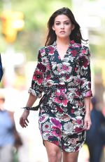 DANIELLE CAMPBELL Out and About in New York 09/07/2017