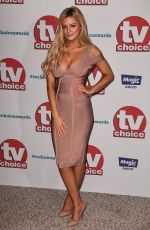 DANIELLE SELLERS at TV Choice Awards in London 09/04/2017