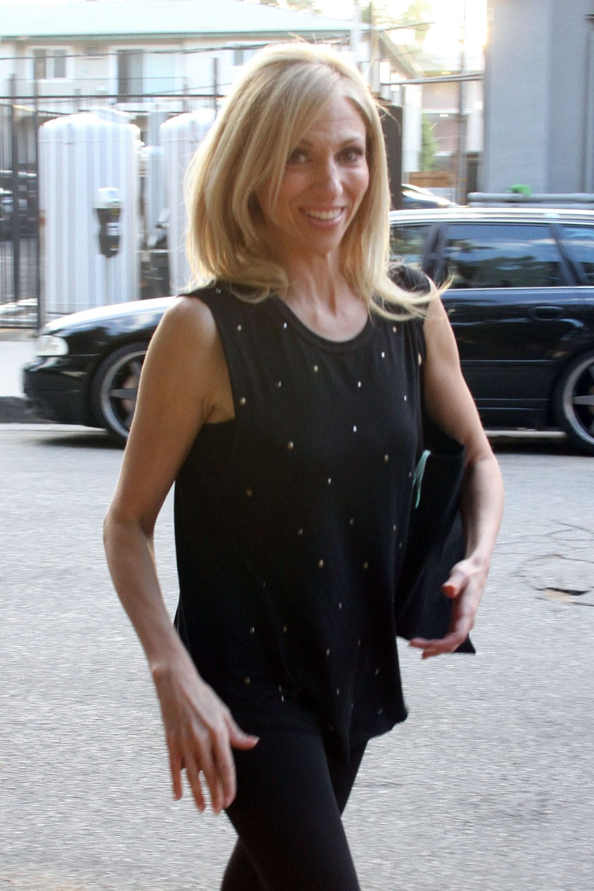 DEBBIE GIBSON Leaves a Dance Studio in Los Angeles 09/11/2017