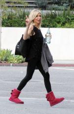 DEBBIE GIBSON Leaves a Dance Studio in Los Angeles 09/11/2017