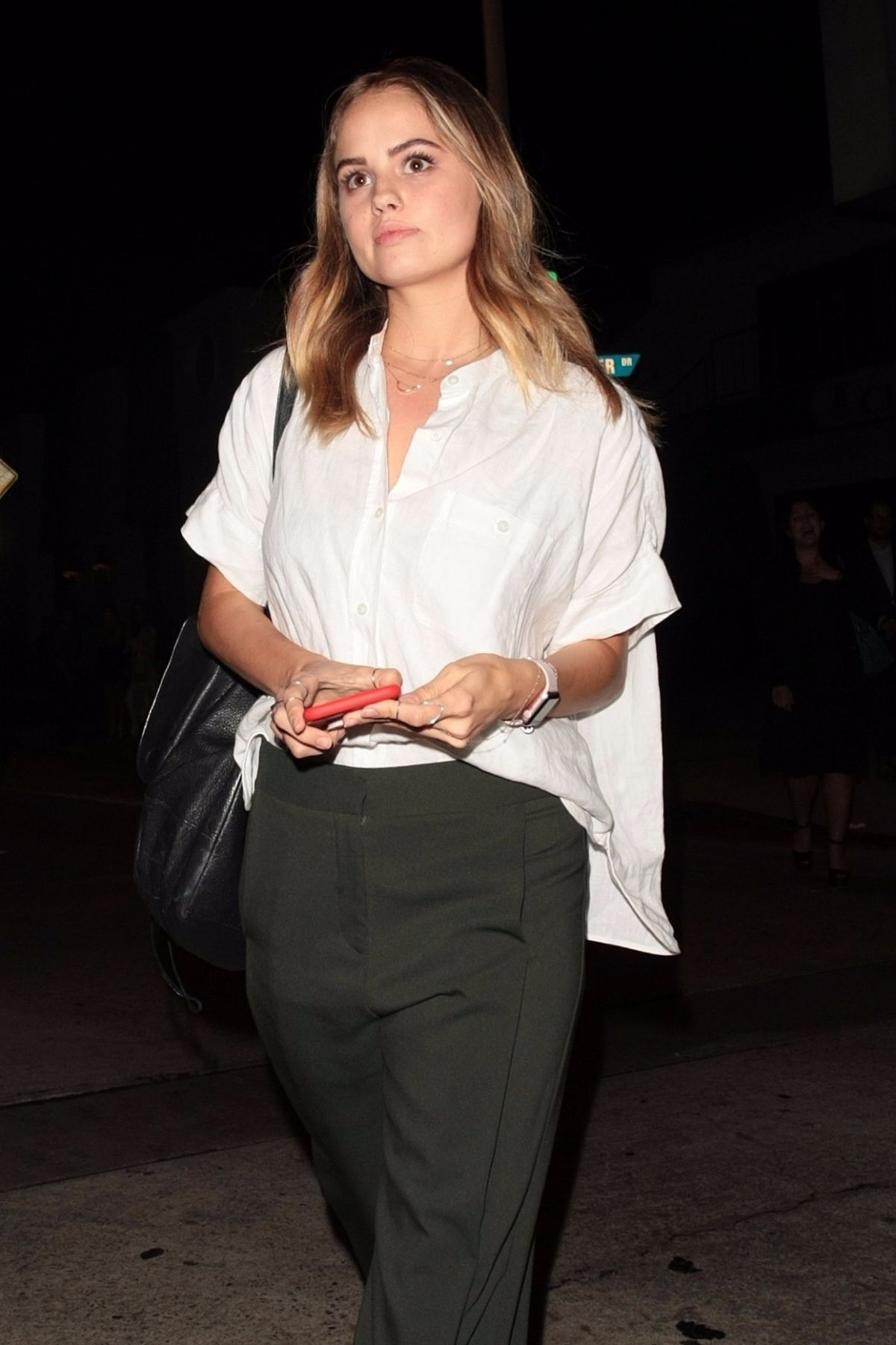 DEBBY RYAN Arrives at Craig