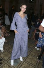 DELLILAH HAMLIN at Dennis Basso Fashion Show at NYFW in New York 09/11/2017