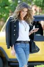 DELTA GOODREM in Jeand Out in Los Angeles 09/05/2017