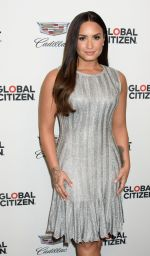DEMI LOVATO at Global Citizen and Cadillac House Present Demi Lovato in Concert in New York 09/21/2017