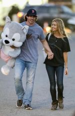 DENISE RICHARDS and Her New Boyfriend at a Fair in Malibu 09/01/2017