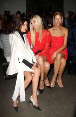DEVON WINDSOR at Pamella Roland Fashion Show at New York Fashion Week 09/06/2017