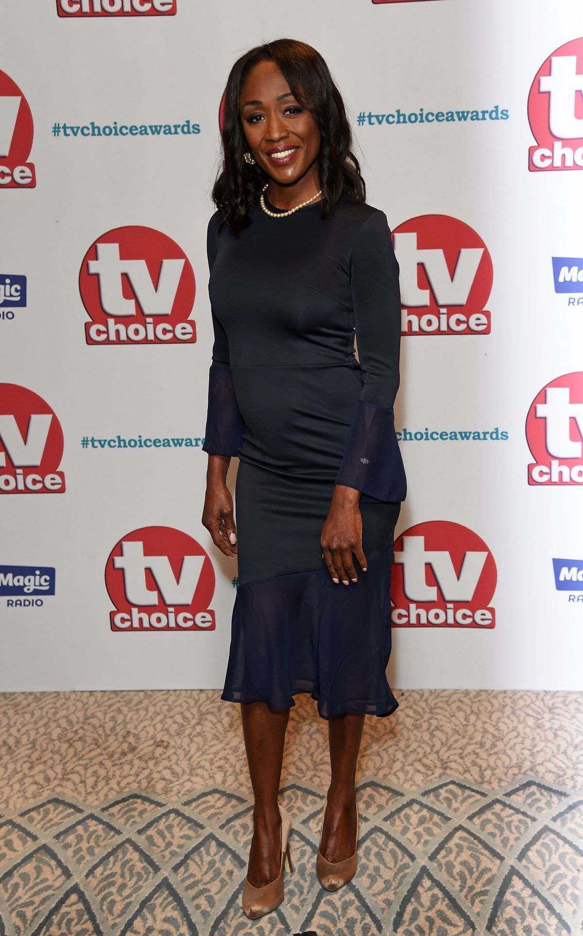 DIANE PARISH at TV Choice Awards in London 09/04/2017