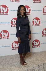 DIANE PARISH at TV Choice Awards in London 09/04/2017