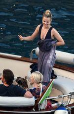 DIANNA AGRON adn Winston Marshall Out in Amalfi Coast 09/07/2017