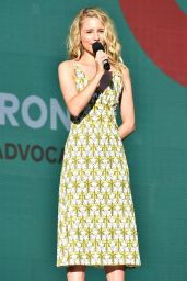 DIANNA AGRON at Global Citizen Festival in New York 09/23/2017