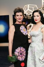 DITA VON TEESE at La Prairie Presents: The Art of Caviar Vernissage Evening in New York 09/06/2017
