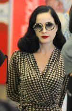 DITA VON TEESE at LAX Airport in Los Angeles 09/16/2017