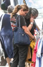 DREA DE MATTEO Out and About in New York 08/31/2017