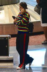 DUA LIPA Arrives at Airport in Las Vegas 24.09.2017