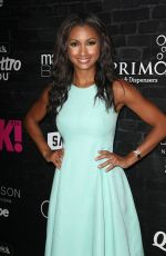 EBONI WILLIAMS at OK! Magazine's Fall Fashion Week Event in New York 09/13/2017